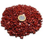 1kg De Cascalho De Pedra Jaspe Vermelho Natural