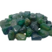 1kg De Pedra Rolada De Ágata Verde