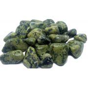 250g de Pedra Rolada De Jade Nefrita Natural