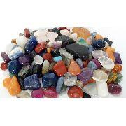 5 Kg de Pedra Rolada Sortida Mista Natural