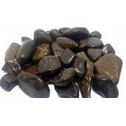 500g De Pedra Rolada De Bronzita Natural