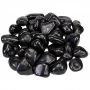 5 Unidades De Pedra Rolada De Ônix Natural