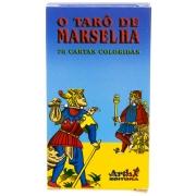Baralho Tarô De Marselha Com 78 Cartas E Manual