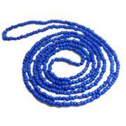Colar De Miçanga Azul Marinho Oxum Ogum
