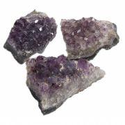 Mini Drusa De Ametista - Pedra Da Cura E Equilíbrio