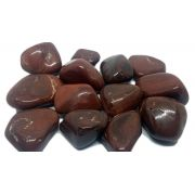 Pedra Rolada De Jaspe Marrom Natural