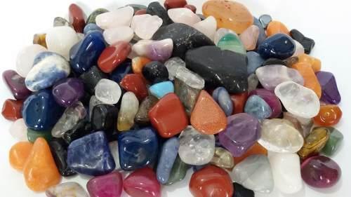 10kg Pedra Rolada Sortida Mista Natural