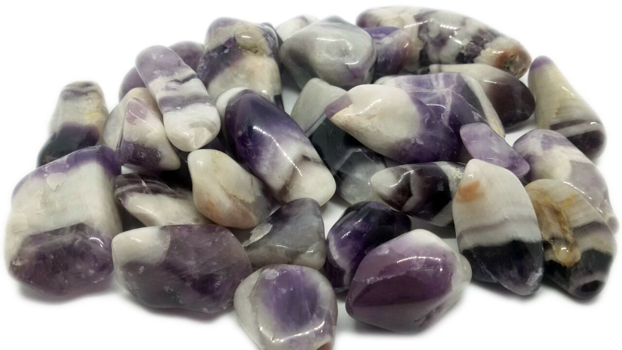 500g De Pedra Rolada Cacoxenita Natural