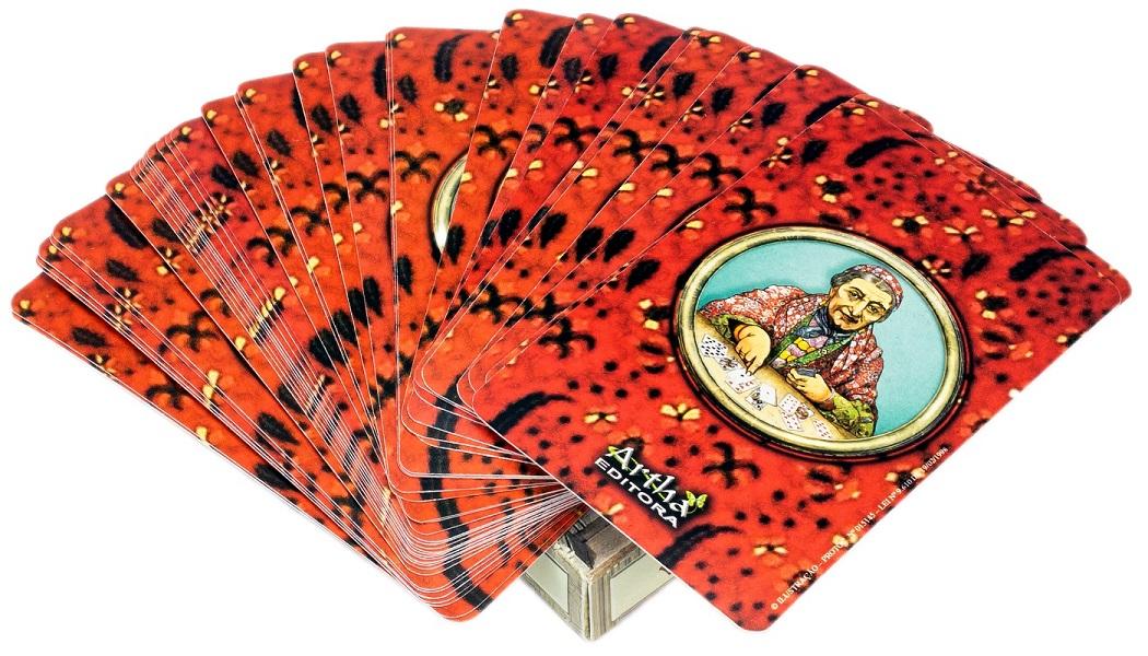 Baralho Cartas Da Vovó Cigana Com 36 Cartas E Manual