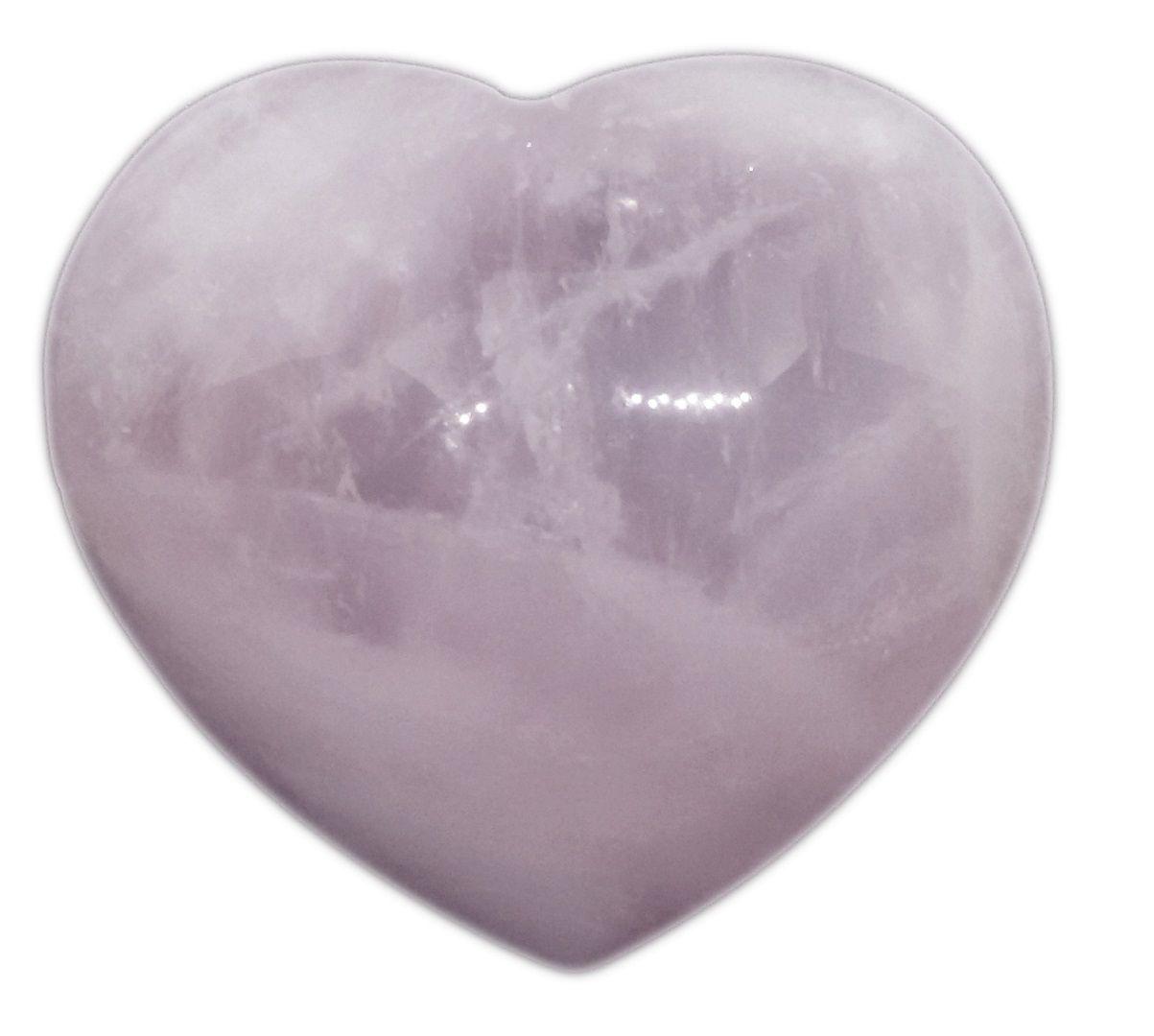 Coração De Quartzo Rosa Natural Pedra Harmoniza O Amor
