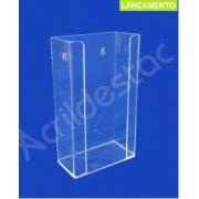 Caixa acrílico suporte para Caixa de Luvas EPI Equipamento de Proteção Individual