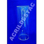 Tubo de acrilico 20cm diam x 100cm alt tubo acrilico transparente