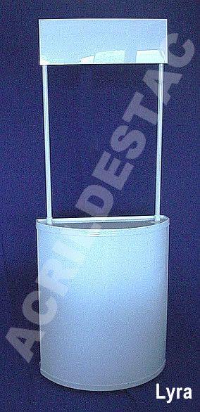 Balcão PDV Desmontavel para Degustação Display Stand LYRA