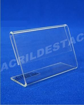 Display acrilico precificador de produtos e etiquetas 6x9cm