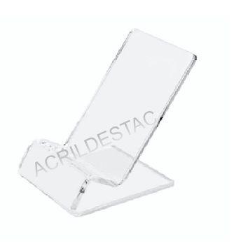 Expositor em Acrilico Suporte de mesa para Celular Smartphone Vitrine e acessorios