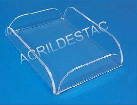 Bandeja Porta Amenities em Acrilico  16 x 11 cm para Hoteis e Pousadas