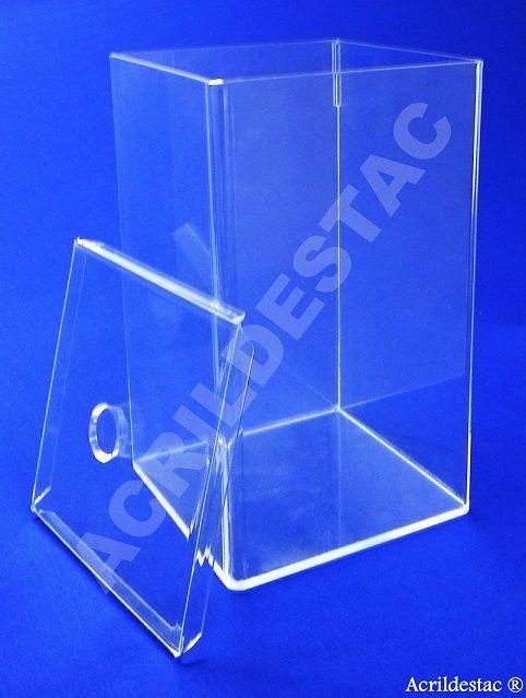 Potes de Acrílico para alimentos secos cereais doces 15 x 10 cm (alt x base) - 1,5 L