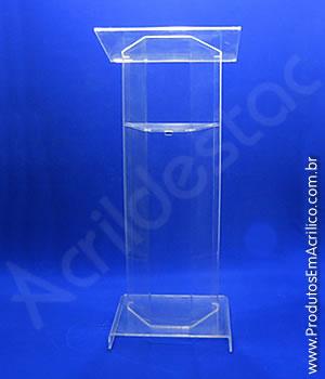 Pulpito de Acrílico Cristal TURIN Venda para Locação e Eventos Igrejas