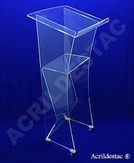 Pulpito de Acrilico Transparente BELMONTE para Cerimonias e Formaturas