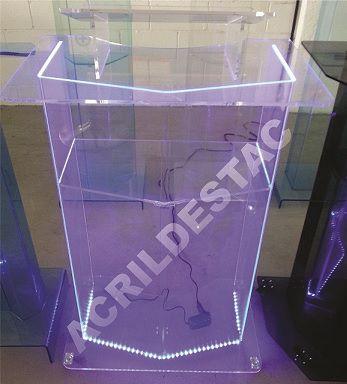 Pulpito de Acrilico Transparente MONTREAL Direto da Fabrica