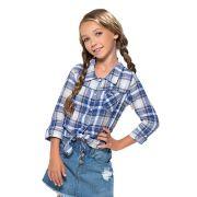 Camisa Mania Kids Xadrez 60795Fj