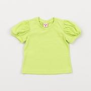 Camiseta Beabá Manga Bufante Verde 818001