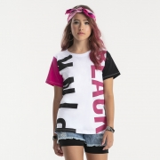 Camiseta Bobbylulu Black Pink B22050
