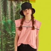 Camiseta Colcci Fun Rosa Boemia 365300670