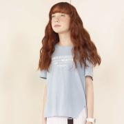 Camiseta Dimy Candy com Abertura e Barra Assimétrica TSH82643az