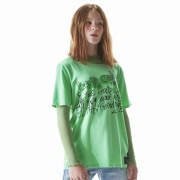 Camiseta Dimy Candy Grafitada Verde 82332