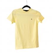 Camiseta King e Joe Básica Amarela Ca03001K
