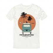 Camiseta King e Joe New Journey Off White CA03047K