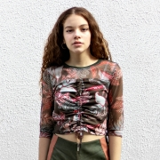 Camiseta Acostamento Floral Tomilho 89805014