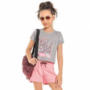 Conjunto Gloss Cinza E Rosa Why Not 31175