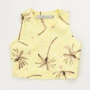 Cropped Acostamento Party Yellow 83805014