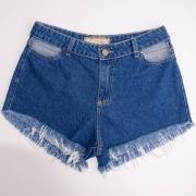 Short Menina Usar Jeans Vazado 122