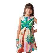 Vestido Camu Camu Curto Cajueiro 8203