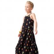 Vestido Camu Camu Longo Cajuzinhos 8243
