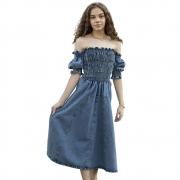 Vestido Dryalit Jeans Lastex 87DRY