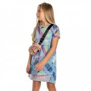 Vestido Gloss Tela Azul 31250