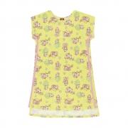 Vestido Menina Bee Loop Amarelo Bicho Preguiça 13849