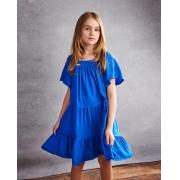 Vestido Ópera Kids Azul Bic 5491