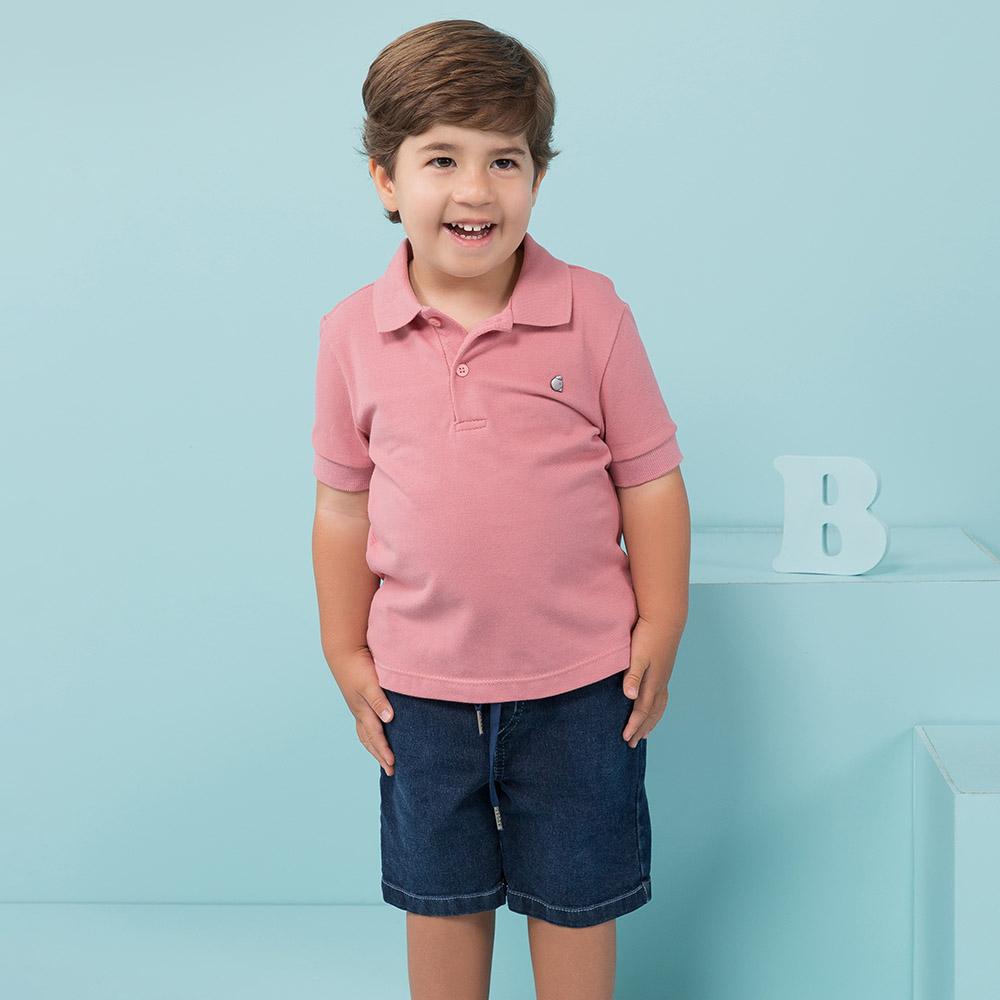 Bermuda Menino Beabá Jeans 808105