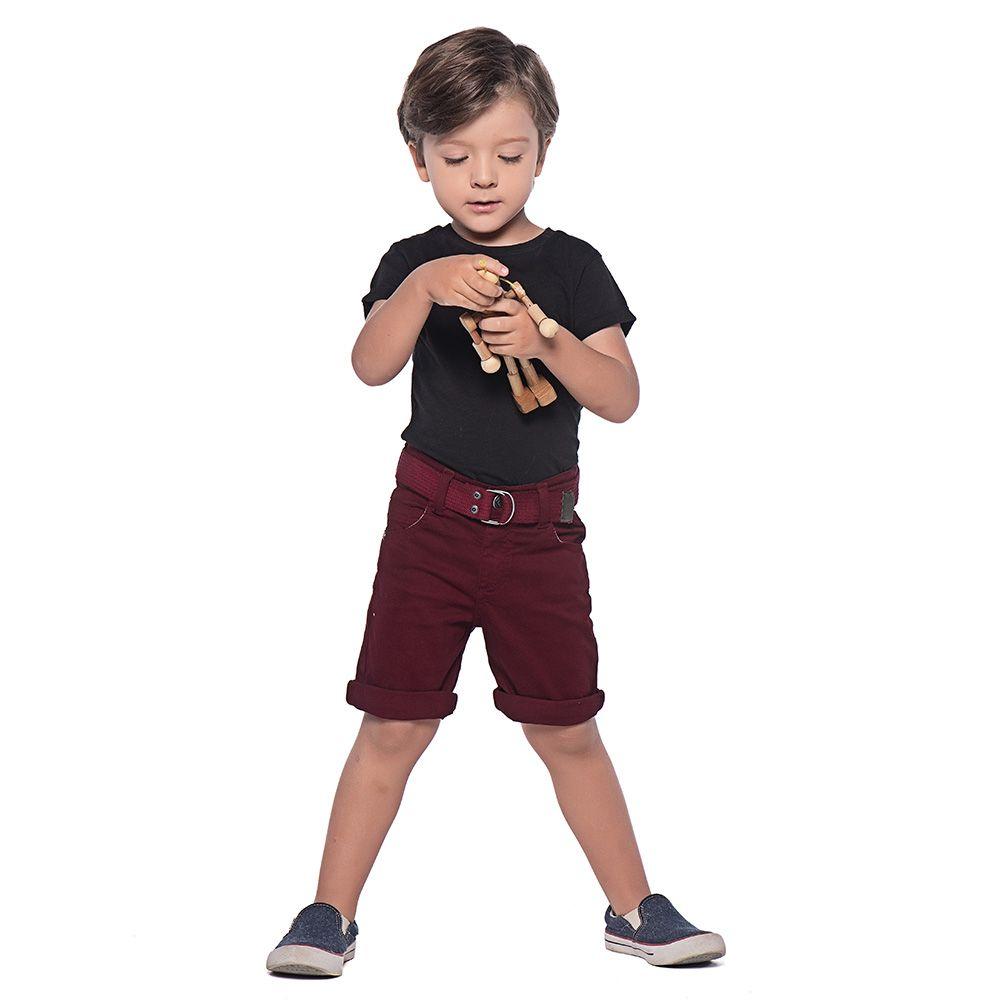 Bermuda Mania Kids Vinho 90578Vn