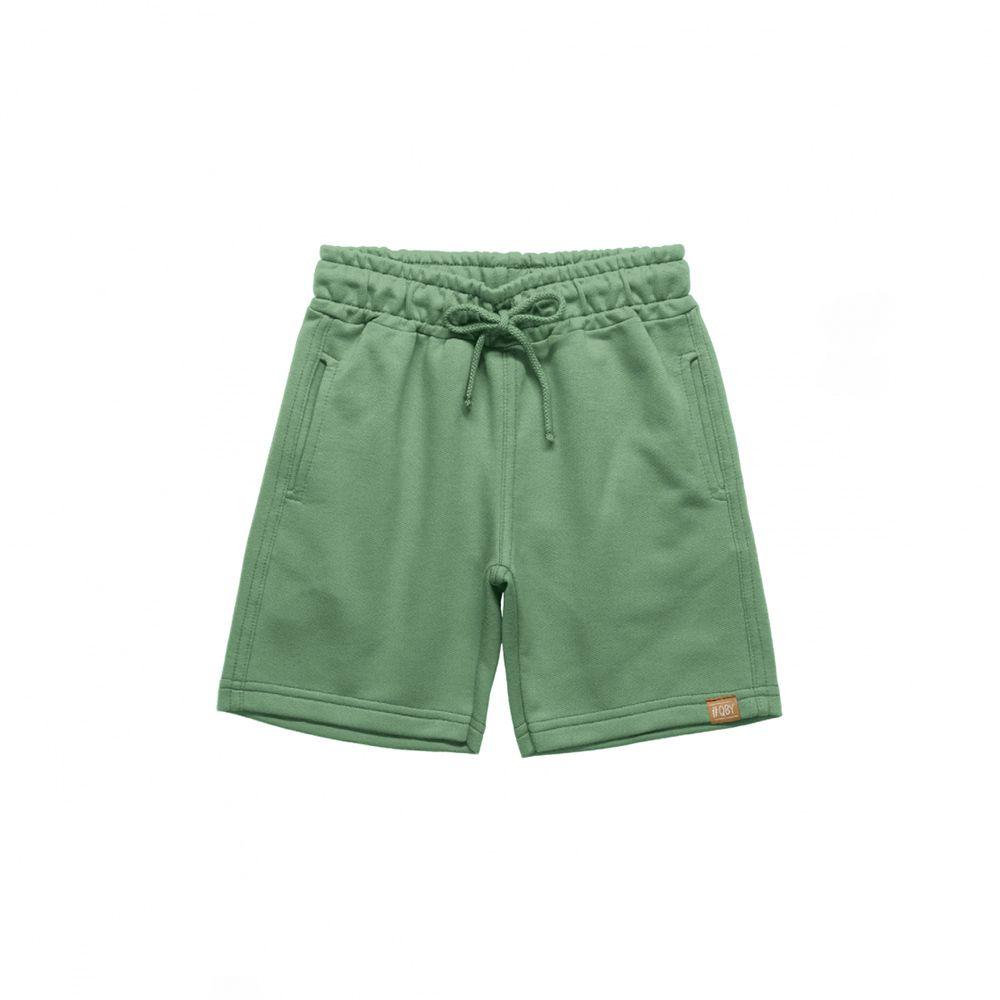 Bermuda Menino Quimby Moletom Verde 27848