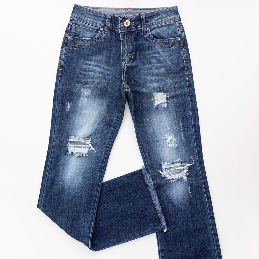 Calça Jeans Menina Valente Calça Boot Cut Inf 510201