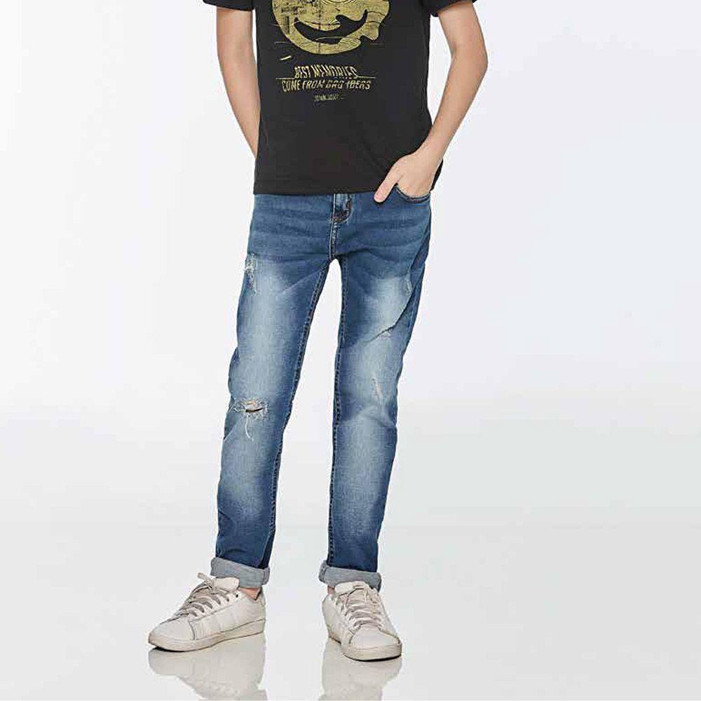 Calça Jeans Menino John John Skinny Alan Jeans Médio