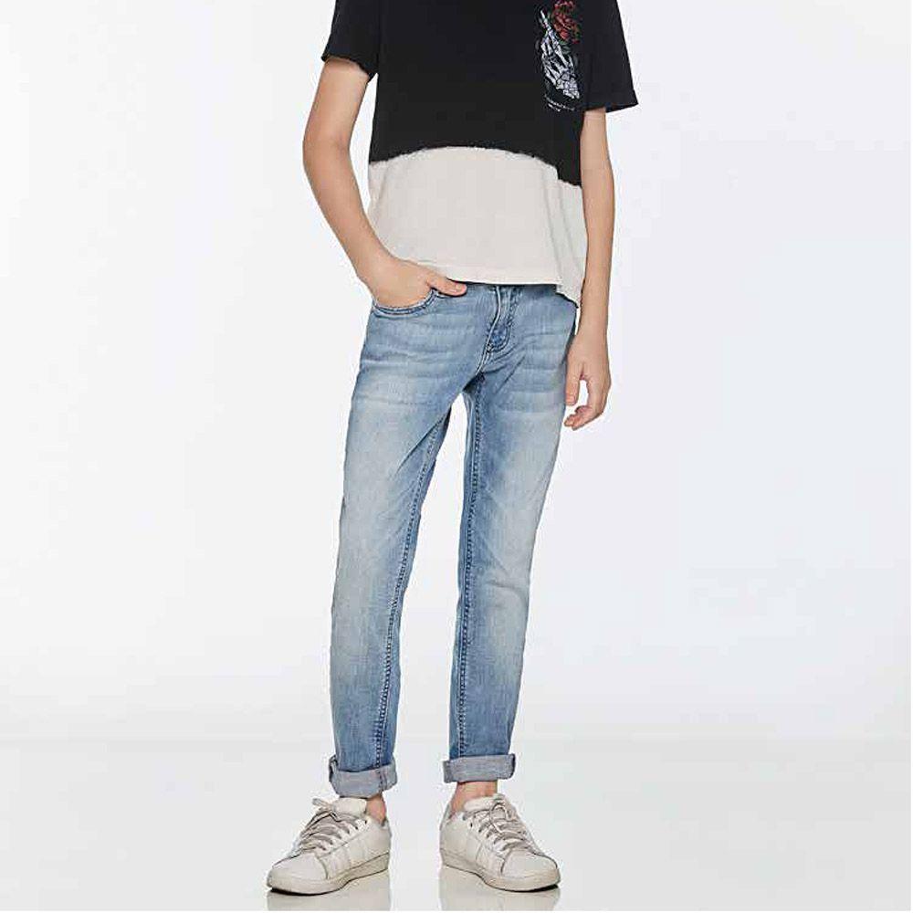 Calça Jeans Menino John John Skinny Augusto Jeans Claro