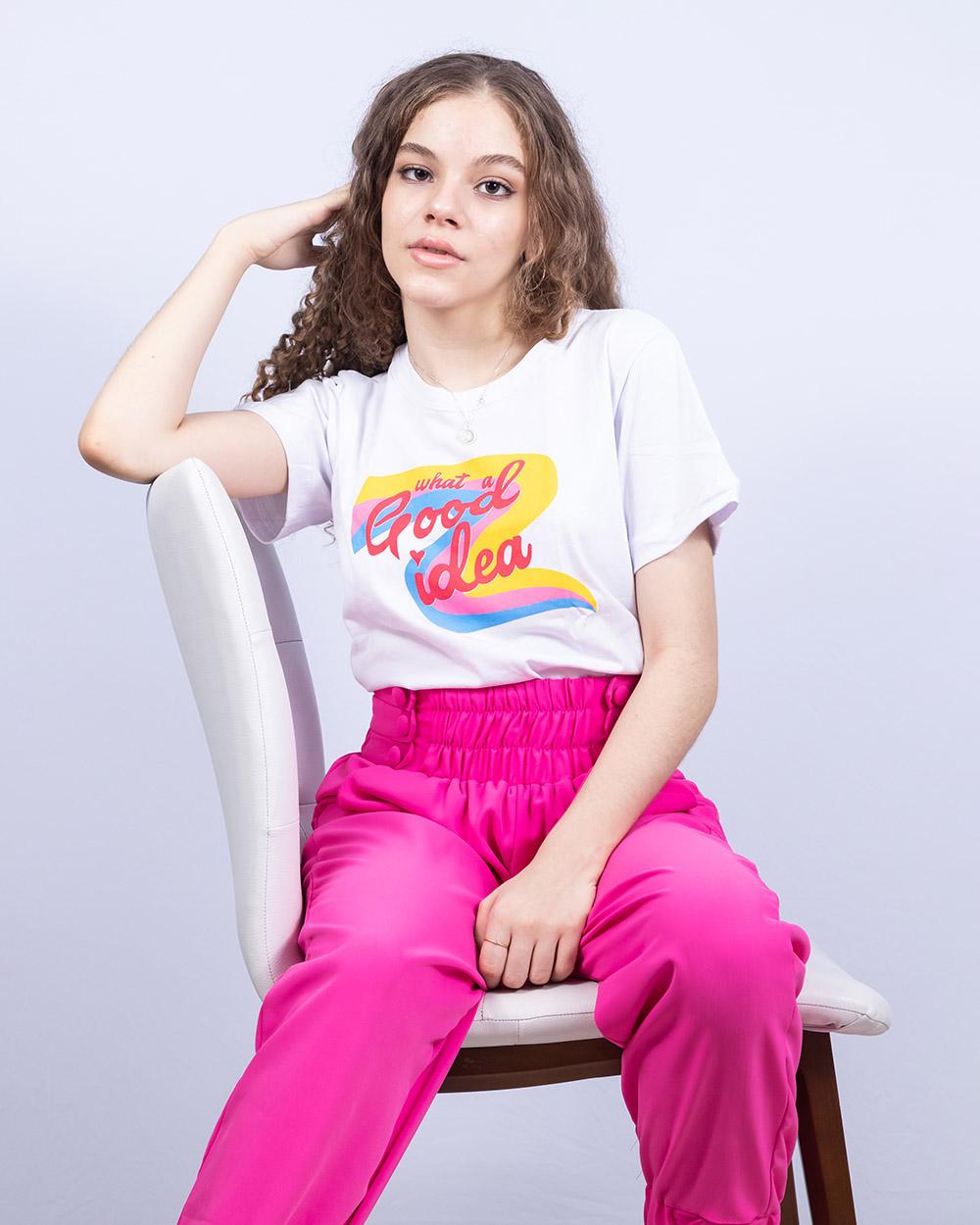 Calça Menina 3 Marias Jogger Pink