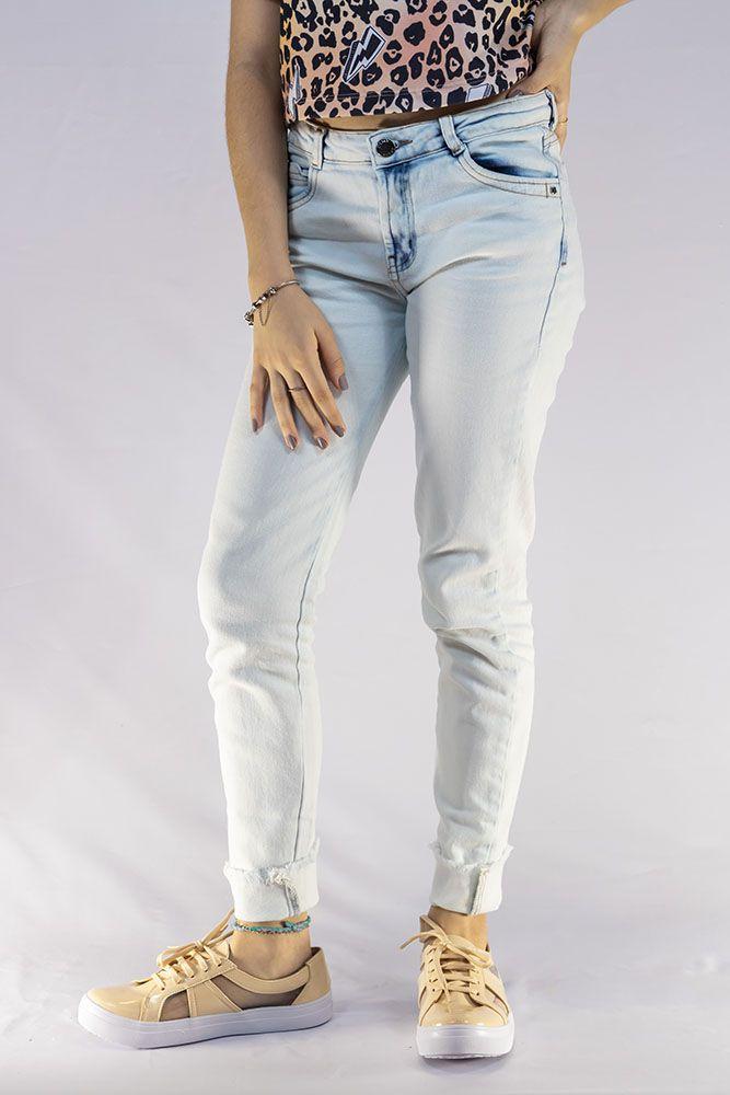 Calça Menina Dimy Candy Jeans Claro 81647